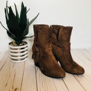 SUEDE BROWN BOOTS 👢